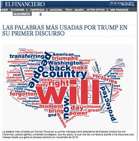 TRUMP, TWITTER, EL FINANCIERO, #100DIASDETRUMP