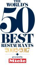 THE WORLDS 50 BEST RESTAURANTE, 5O BEST RESTAURANTS